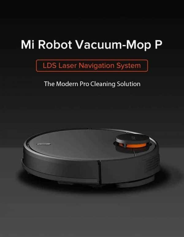 Robotski usisavač Xiaomi Mi Robot Vacuum Mop P (Black)