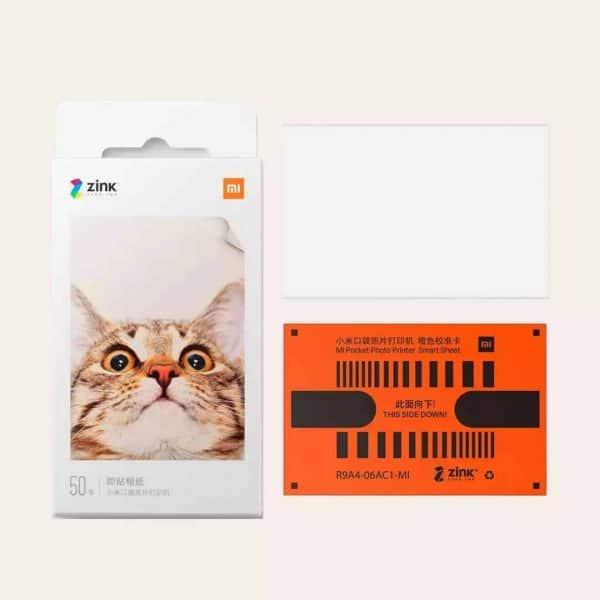 Xiaomi Mi Portable Photo Printer Paper (2x3-inch, 20-sheets)