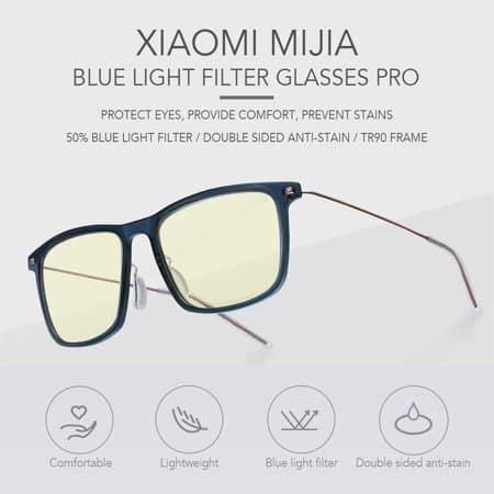 Naočale Xiaomi Mi Computer Glasses Anti-blue light goggles black