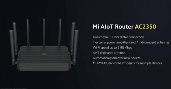 Ruter Xiaomi Mi AIoT Router AC2350