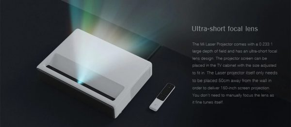 "Projektor Xiaomi Mi Laser Projector 150"" White"