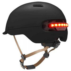 Zaštitna kaciga Xiaomi Smart4u City riding smart flash helmet (L) Black
