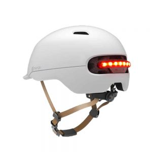 Zaštitna kaciga Xiaomi Smart4u City riding smart flash helmet (L) White