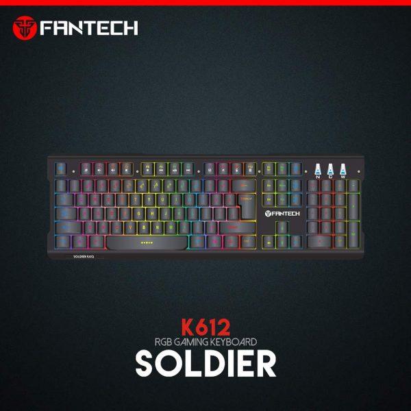 TIPKOVNICA GAMING ŽIČNA FANTECH SOLDIER K612