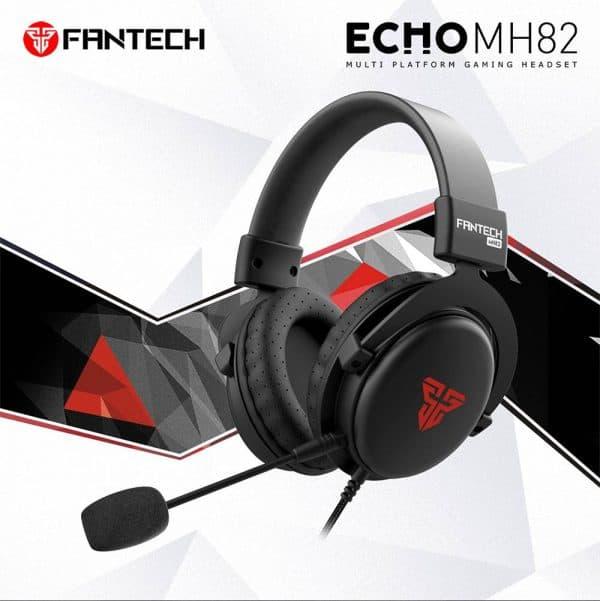 SLUŠALICE ŽIČNE GAMING FANTECH 3.5 mm + MIKROFON ECHO MH82