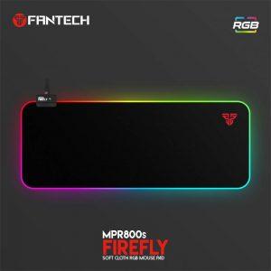 PODLOŽAK ZA MIŠ FANTECH 780x350x4 mm FIREFLY RGB MPR800S CRNI